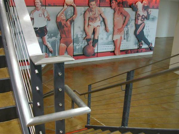 360SDSU athletic stairs